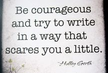 Writing Quotes / Quotes about writing.