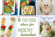 Lunch / Voor de kids
