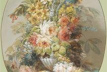 Natura statica cu flori