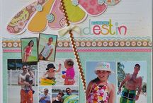 Layouts / by Obsessed with Scrapbooking by Joy Tracey