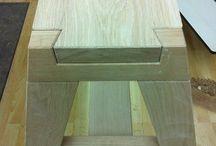 encaixe de madeira