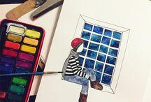Mine tegninger/malerier