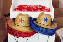 cowboy and cowgirls theme