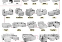 Furniture arrangement / Different ways
