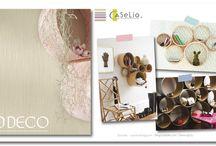 DIY : Papier peint / Retrouvez toutes les idées DIY proposées par Caselio à partir de chutes de papier peint !