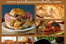 Sarah's Cucina Bella's Stress-Free Thanksgiving Recipes / Easy, delicious Thanksgiving recipes for turkey, side dishes and more from the popular food blog Sarah's Cucina Bella. / by Sarah Walker Caron