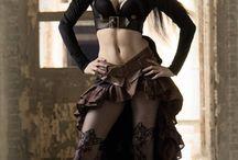 gothic exo girl