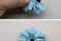 Fabric Flowers & Embroidery
