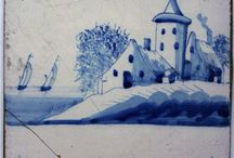 Delft Tiles:  Inspiration and Attempts