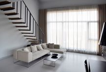 HOME, HOUSE, APARTMENT _ PULVA _ A.06 / PULVA, minimalistic, interior design, minimal, modern, materials, home, homestyle, house, dom, kitchen, living room, bathroom, stairs, dining room
