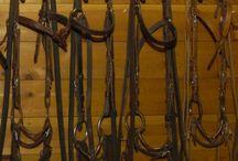 rangement sellerie / matos d'équitation