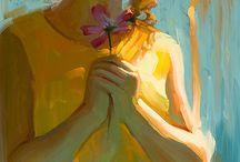 Oil on canvas / yağlı boya tablo