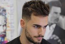 Håret Herre frisure