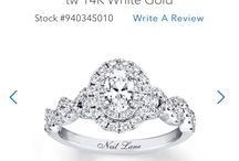 Wedding Rings / Has to be at least 1 carat!