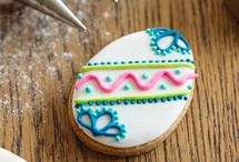 Sugar Cookies / Decorated cut-out sugar cookies. / by Monique Patterson