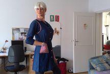 Anita Hungarian nylon school uniform 80's