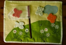 Quiet Book / page ideas and projects for a quiet book