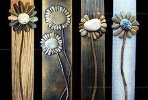 květiny z kaminku