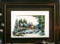 зимний пейзаж 1