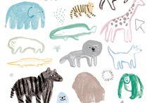 동물 삽화