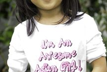 I'M AN AWESOME ASIAN GIRL! / I'm An Awesome Asian Girl! in Books and Apparel Launching and available in TARGET Stores, 2014!