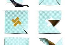 origami a skládaní z papíru