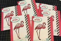 Stampin' Up! Fabulous Flamingo