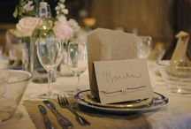 Wedding Inspiration - Table decorations