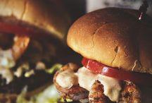 Burgers / by Shamicka Moore