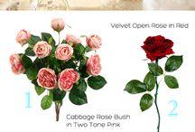 color scheme/flowers/centerpieces