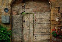 Houten poort / Houten poort