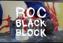World of Urban Art : ROC BLACKBLOCK