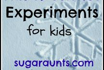 Winter Science Experiments / Experiments to do to beat cabin fever this winter / by Licking County Library
