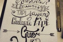 Hand Lettering / My calligraphy / hand lettering portfolios