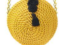 bolsos cordón seda