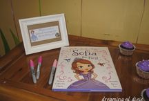 Sofia the First birthday party / party ideas for my princess's second birthday ❤ / by Electra Rickell
