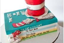 Cat in the hat cake - trent / Trent party cake and party ideas