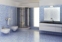 Mosaik im Bad / Eindrucksvolle Bilder zeigen den Einsatz von Mosaik im Bad.  ► http://www.fliesenleger-info.com/cms/mosaik-im-bad.html