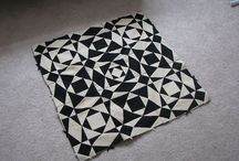 Quilting - Black and White Quilts