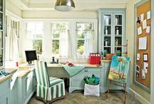 Cool Craft Room / by Cindy Hughes