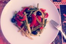 Li's green food / Home made food.