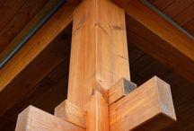 cortes de anclaje en madera