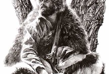 American Frontiersmen and Mountainmen / What my life could have been had I been born 150 years earlier! / by Unka Alan Gergen