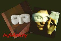 Infidelity 2007 sculpture/ painting / Infidelity 2007 sculpture/ painting by Manuel surrealist http://www.manuelmykonos.com/