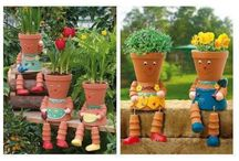 Flower pot things / by Rebecca Rogers