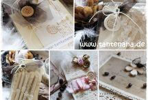 Paper Crafts & Stampin' Up! By Tante Nana / Zauberhaftes aus Papier handmade by Tante Nana