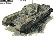 Tanks & Army vehicles  British