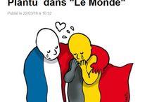 PRAY FOR BRUSSELS / Hommage aux attentats de Bruxelles le 22 mars 2016