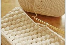 編み物ポーチ