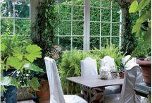 Living in the garden.